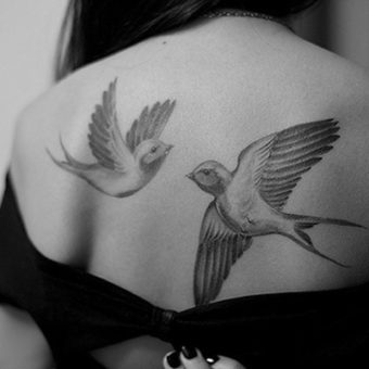 Dove Tattoos for women