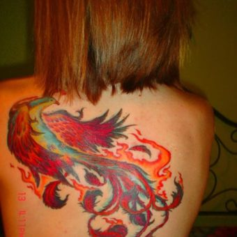 Fire Tattoos for women