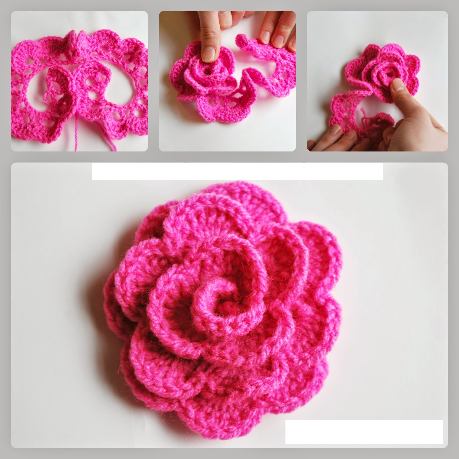 Small Rose Flower Crochet Pattern : Crochet a Rose Flower: 33 Inspiring Patterns ? Patterns Hub
