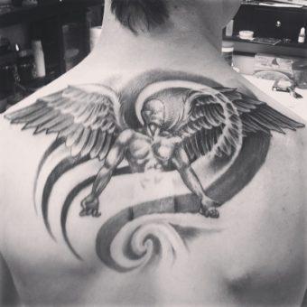 angel themed tattoos