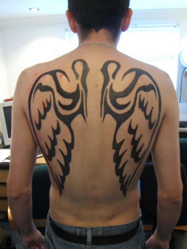 21 Inspiring Angel Tattoo Designs For Men Patterns Hub