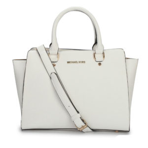 MK white huge bag