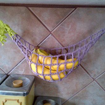 crochet banana hammock pattern