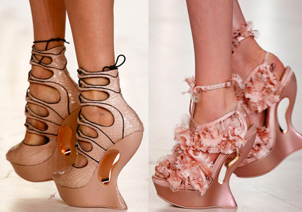 Alexander Mcqueen Designer Shoes And Dresses Patterns Hub