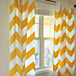 Big Bold Chevron Curtain