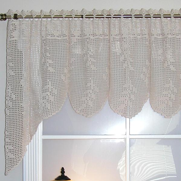 24 Simple Looking Patterns For Crochet Curtains Patterns Hub