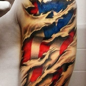 country-flags tattoo designs for men