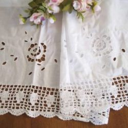 free pattern for crochet lace curtains