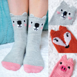 Crochet Animal Sock Patterns