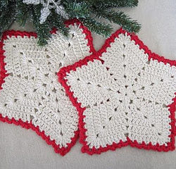 free crochet dishcloth patterns christmas