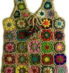 Crochet Granny Square Vest Patterns