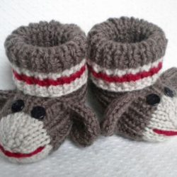 crochet patterns sock monkey hats