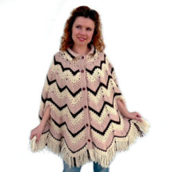 Crochet Poncho Pattern with Arm Holes