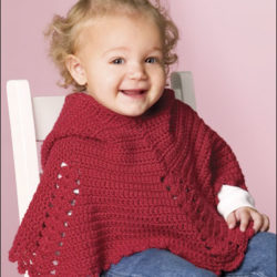 crochet poncho pattern baby