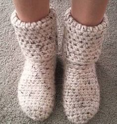 Free Crochet Boot Socks Pattern