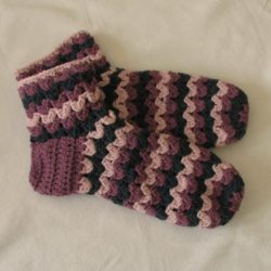 crochet patterns sock weight yarn
