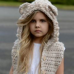 crochet vest with hood pattern