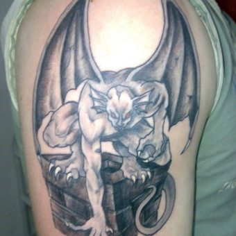 Devil Tattoo Designs for men