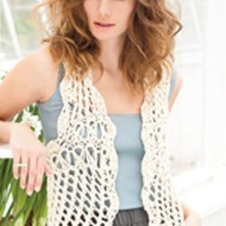 Easy Crochet Vest Pattern