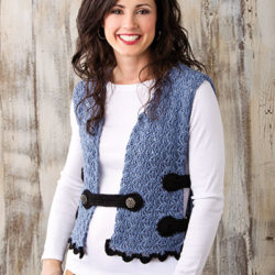 Ladies' Milano Vest Crochet Pattern