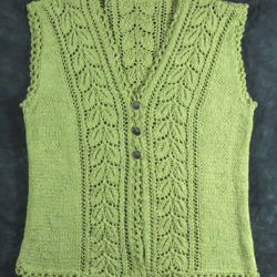 Lady's Lace Vest Crochet