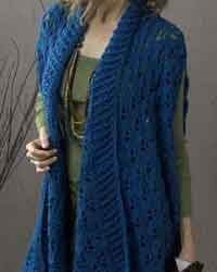 crochet long vest patterns