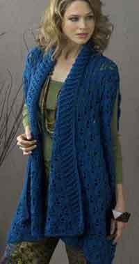 cc66fe3ded1ba 32 Free Crochet Vest Patterns for Beginners - Patterns Hub