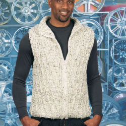 crochet pattern mens vest