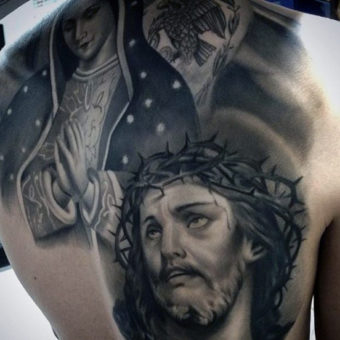 Religious Tattoo Designs for men