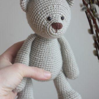 crochet amigurumi teddy bear pattern free