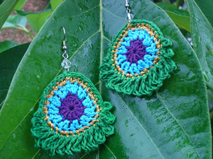 easy crochet earring patterns