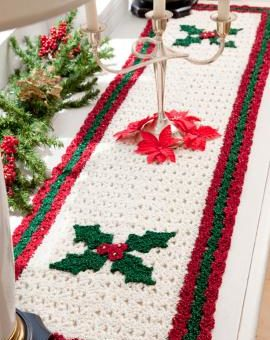 free christmas crochet placemat patterns