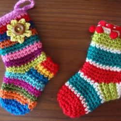 free crochet sock trim patterns