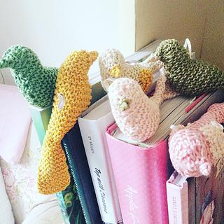 Crochet Bird Bookmark