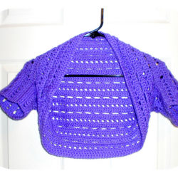 crochet bolero pattern child