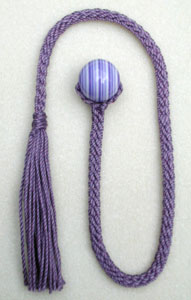 crochet beaded bookmark