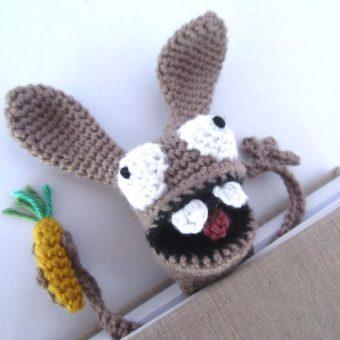 Crochet Bunny Bookmark