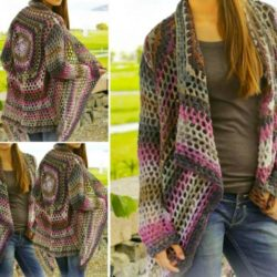 crochet circular vest patterns