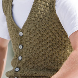 Free Crochet Pattern for Vest