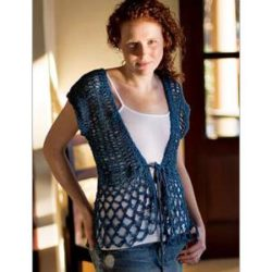 Easy Crochet Vest Pattern Free