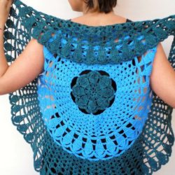 Crochet Circular Shrug Patterns