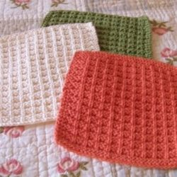 bernat free crochet dishcloth patterns