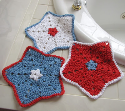 Free Crochet Star Dishcloth Pattern : 34 New Crochet Dishcloth Patterns For Free ? Patterns Hub