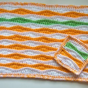 Crochet Fall Placemat Pattern