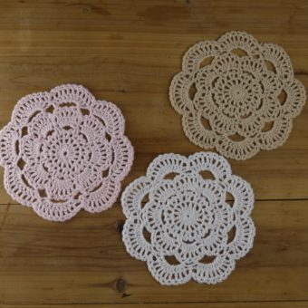 crochet sunflower placemat patterns