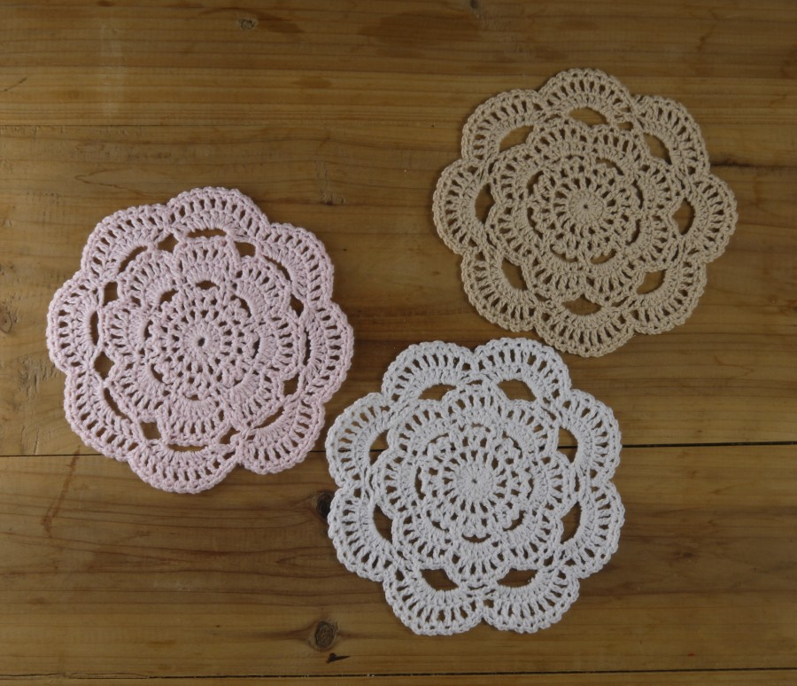 Crocheting Placemats : crochet placemat pattern Patterns Hub
