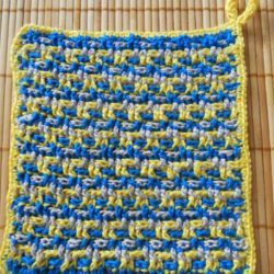 quick crochet dishcloth patterns