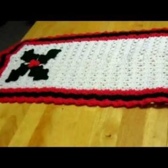 Crochet Holiday Table Runner Patterns