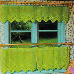 patterns for crochet curtains