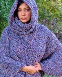 Crochet Poncho Hood Pattern